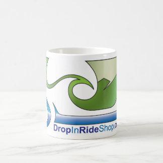 Taza del logotipo de DropInRideShop