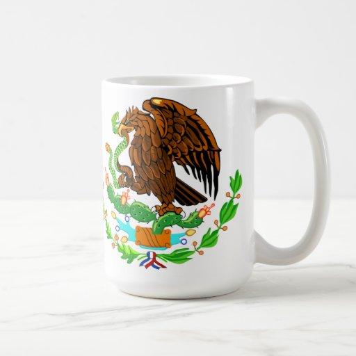 Taza del logotipo de Eagle del mexicano