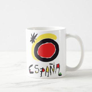 Taza del logotipo de España (España) Miro