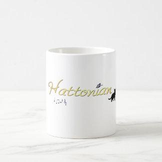 Taza del logotipo de Hattonian