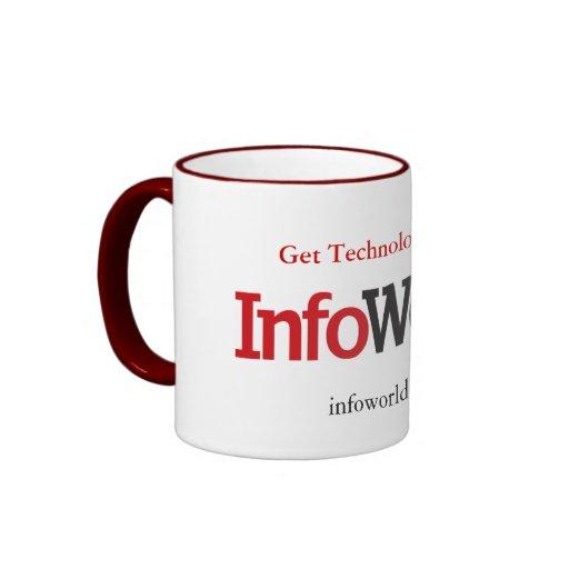 Taza del logotipo de InfoWorld