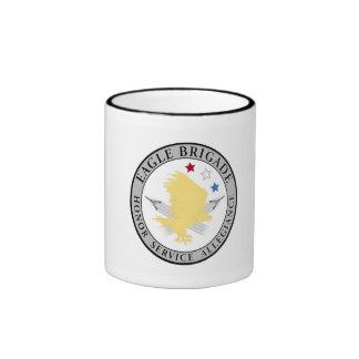 Taza del logotipo de la brigada de Eagle
