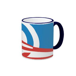 Taza del logotipo de la MOD Obama