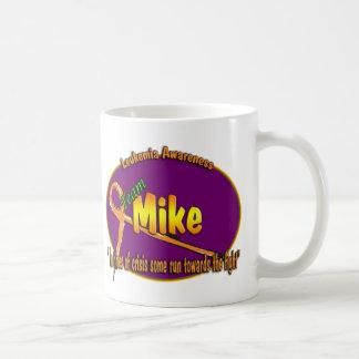 Taza del logotipo de Mike del equipo