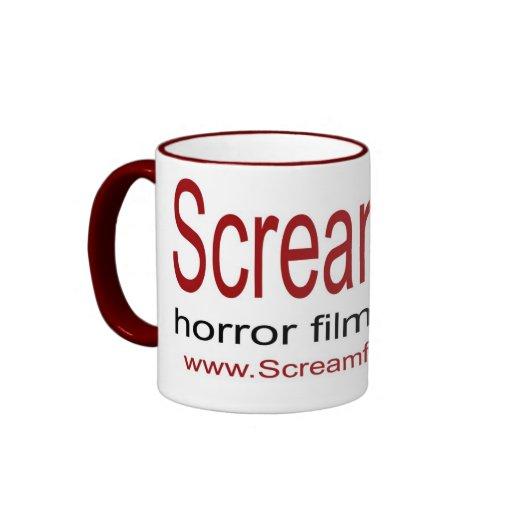Taza del logotipo de Screamfest