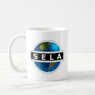 Taza del logotipo de SELA