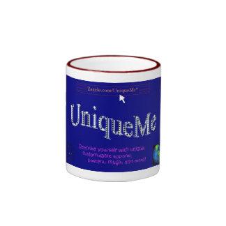 Taza del logotipo de UniqueMe