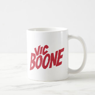 Taza del logotipo de Vic Boone