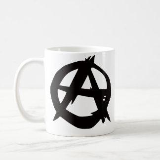 Taza del logotipo del anarquista