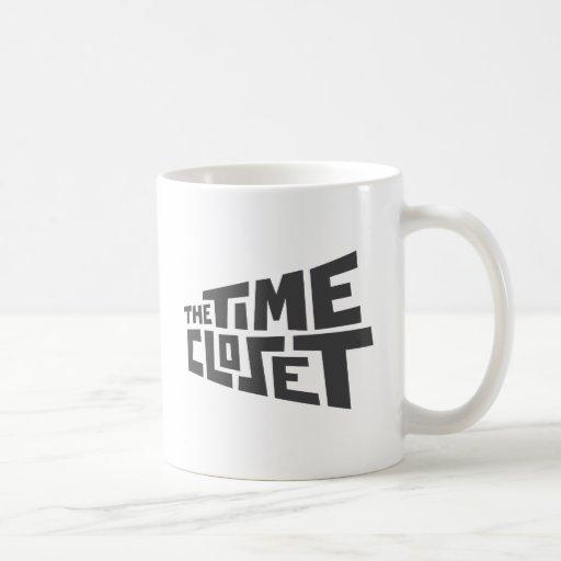 Taza del logotipo del armario del tiempo