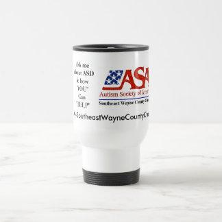 Taza del logotipo del ASA SE-WCC