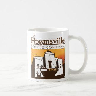 Taza del logotipo del café de Hogansville (diseño