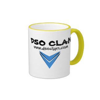 Taza del logotipo del clan de DSO