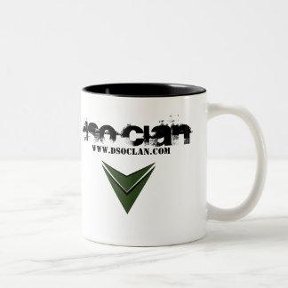 Taza del logotipo del clan de DSO - verde