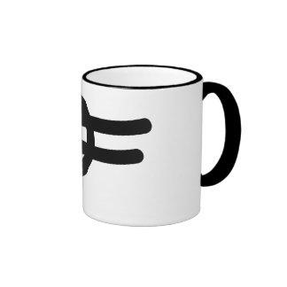taza del logotipo del diseño del defo