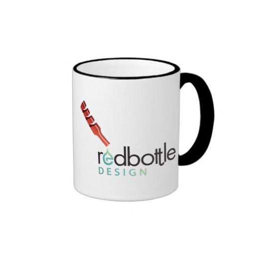 Taza del Logotipo-ed de RedBottle