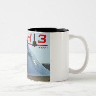 Taza del MACH del mirlo SR-71