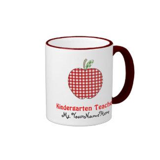 Taza del maestro de jardín de infancia - guinga