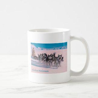 Taza del Malamute de Alaska