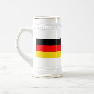 Taza del mapa del ~ de la bandera de Alemania