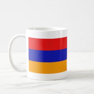 Taza del mapa del ~ de la bandera de Armenia