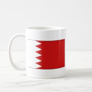 Taza del mapa del ~ de la bandera de Bahrein