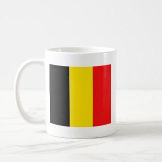 Taza del mapa del ~ de la bandera de Bélgica