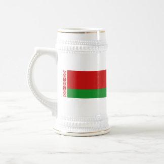 Taza del mapa del ~ de la bandera de Bielorrusia