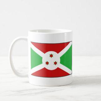 Taza del mapa del ~ de la bandera de Burundi