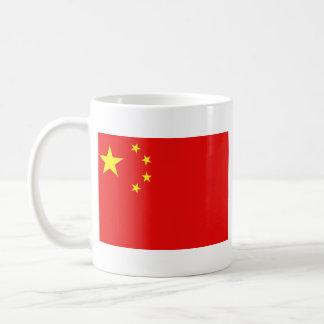 Taza del mapa del ~ de la bandera de China