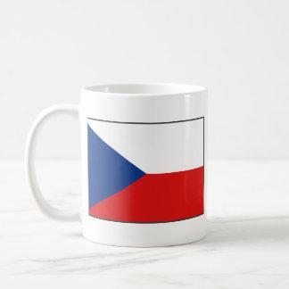 Taza del mapa del ~ de la bandera de Czechia
