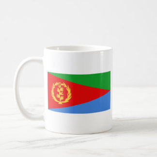 Taza del mapa del ~ de la bandera de Eritrea