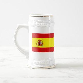 Taza del mapa del ~ de la bandera de España