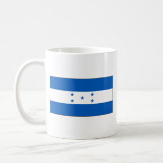 Taza del mapa del ~ de la bandera de Honduras