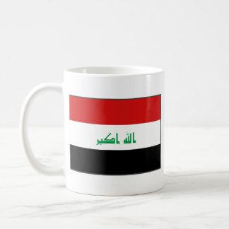 Taza del mapa del ~ de la bandera de Iraq