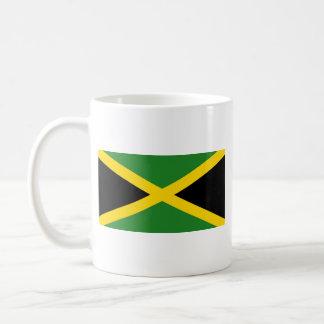 Taza del mapa del ~ de la bandera de Jamaica