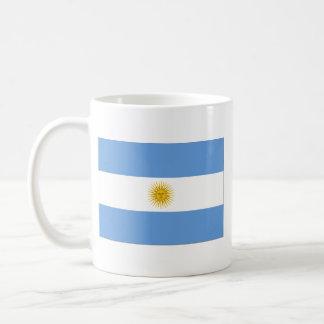 Taza del mapa del ~ de la bandera de la Argentina