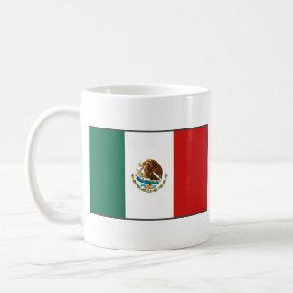 Taza del mapa del ~ de la bandera de México