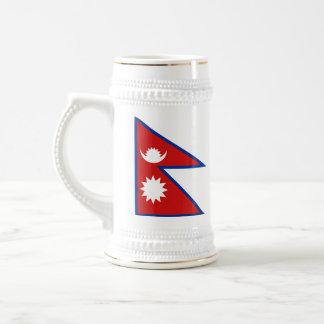 Taza del mapa del ~ de la bandera de Nepal