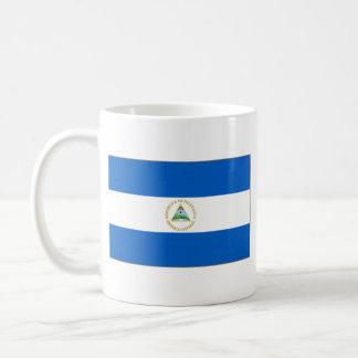 Taza del mapa del ~ de la bandera de Nicaragua