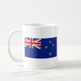 Taza del mapa del ~ de la bandera de Nueva Zelanda