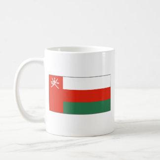 Taza del mapa del ~ de la bandera de Omán