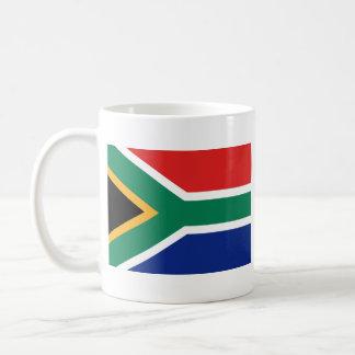 Taza del mapa del ~ de la bandera de Suráfrica