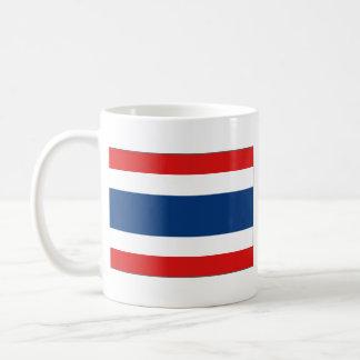 Taza del mapa del ~ de la bandera de Tailandia