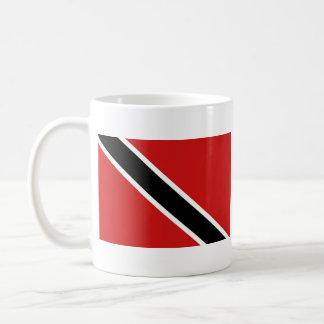 Taza del mapa del ~ de la bandera de Trinidad and