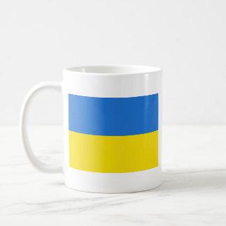 Taza del mapa del ~ de la bandera de Ucrania