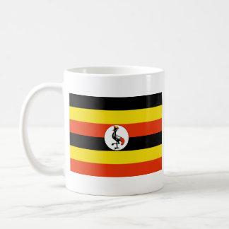 Taza del mapa del ~ de la bandera de Uganda