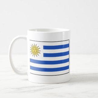 Taza del mapa del ~ de la bandera de Uruguay