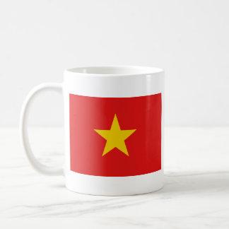 Taza del mapa del ~ de la bandera de Vietnam