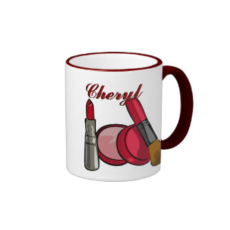 Taza del maquillaje